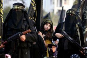 Des femmes jihadistes à Gaza en 2012