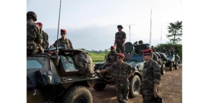 L'armée française à Bangui, début décembre 2013 - Photo AFP