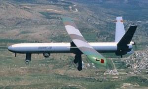 Un drone Hermès 450, d'Elbit Systems - Photo AFP/Getty Images
