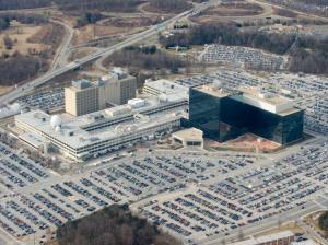 Le QG de la NSA à Fort Meade, dans le Maryland (USA) - Photo Saul Loeb/AFP/Getty Images
