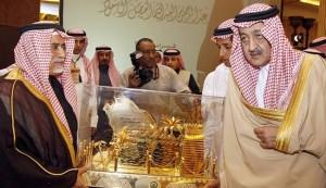 Le Prince Abdul Rahmane al-Faisal, fils du défunt Roi Faisal d'Arabie Saoudite et frère de l'actuel Ministre des Affaires Etrangères saoudien, le Prince Saoud al-Faisal