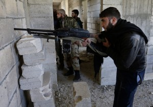 Mideast Syria Northern Standoff
