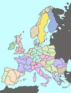 """Un dessin d'après l' """"Eurotopie"""" imaginée par Heineken et Wesserling - source: Wikipedia"""