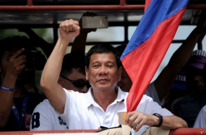Le Président des Philippines, Rodrigo Duterte - Photo NOEL CELIS/AFP/Getty Images)