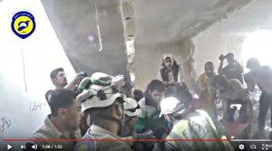 Capture d'écran d'une des très nombreuses vidéos promotionnelles des casques Blancs, avec équipe de tournage et groupies, comme d'habitude