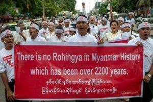 Myanmar manifestation anti-Rohingya