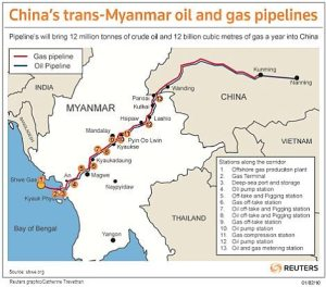 Oil-and-Natural-Gas-Pipelines-Route-Map-Myanmar-to-China