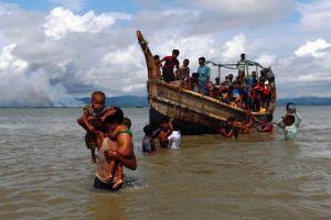 Rohingya-boat