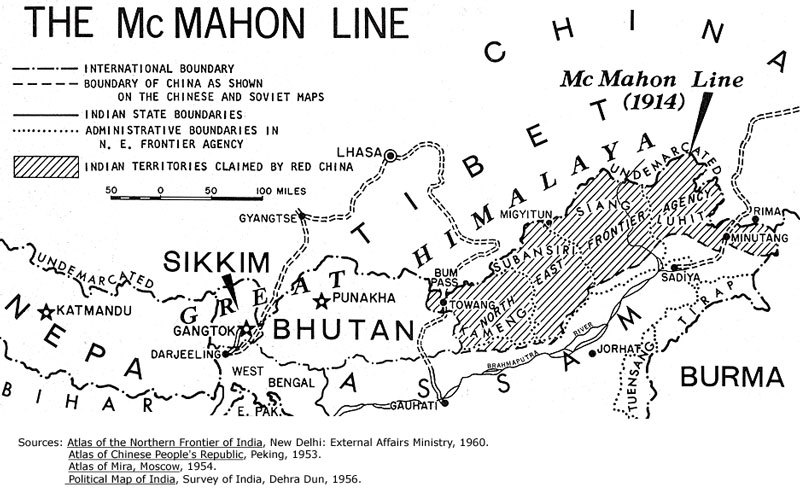 Ligne McMahon, 1914