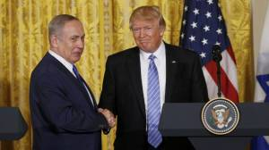 Trump Netanyahou